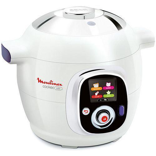 50€  de réduction sur le cuiseur vapeur Moulinex CE 702100 via l'application et le site mobile