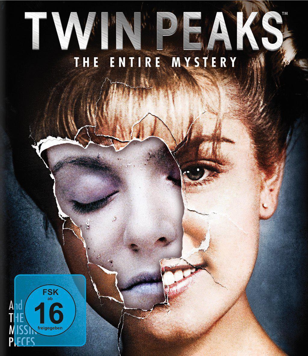 Coffret Blu-Ray Twin Peaks The Entire Mystery (Intégrale série + film + bonus)