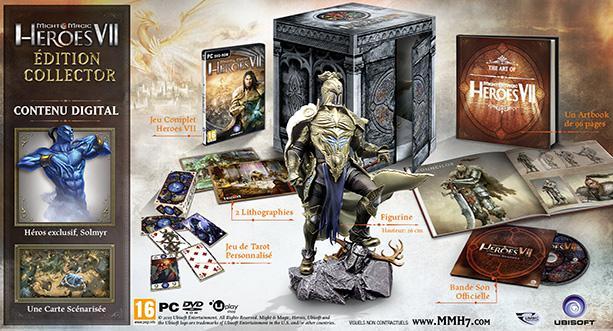 Sélection de jeux en promo - Ex : Might & Magic Heroes VII - Édition Collector