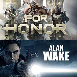 Alan Wake & For Honor Gratuits sur PC (Dématérialisés)