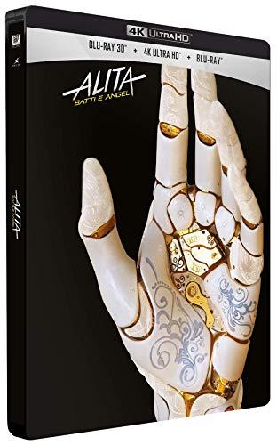 Blu-ray 4K UHD Alita: Battle Angel (Blu-ray 3D + Blu-ray + steelbook)