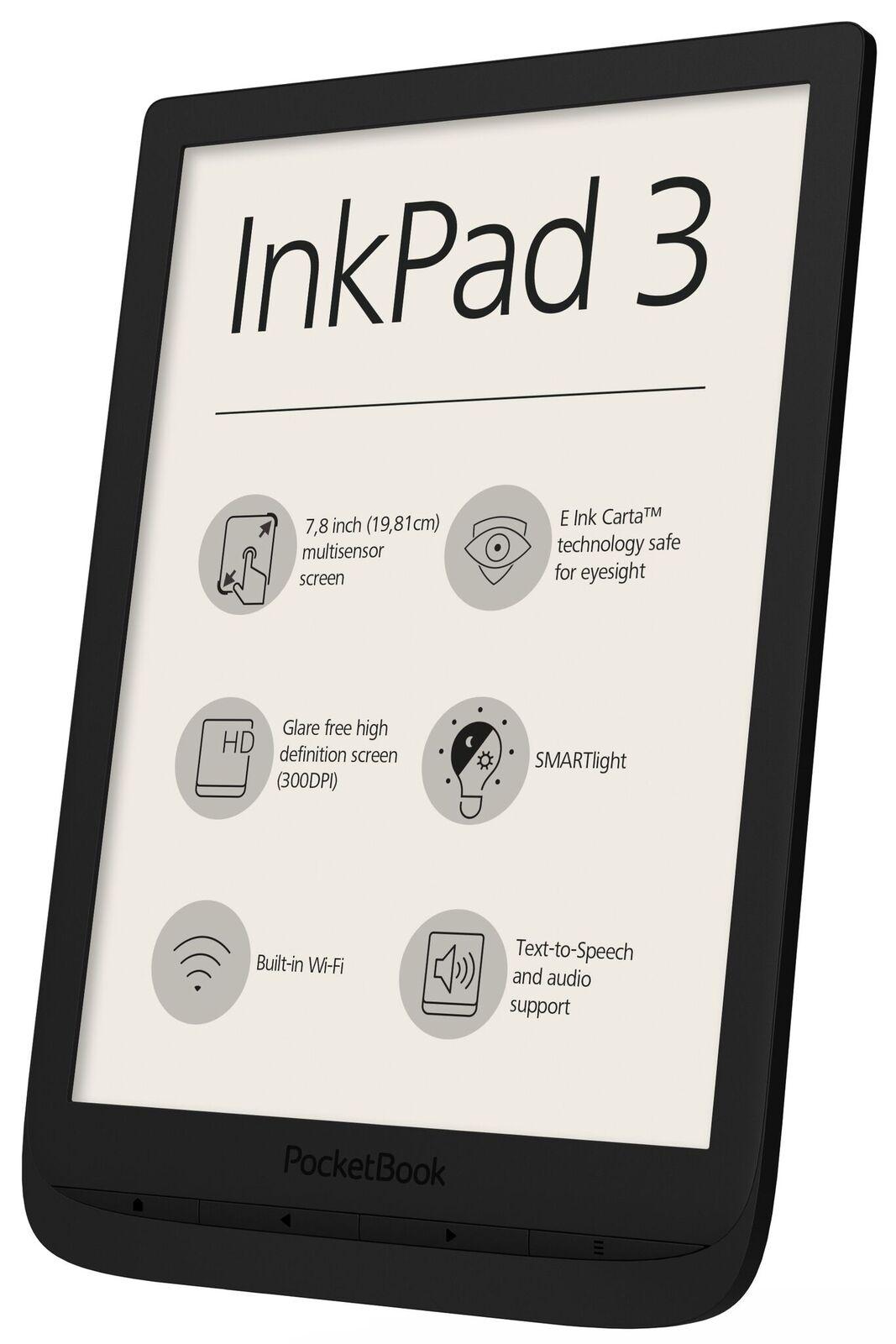 Liseuse 7.8' Vivlio InkPad 3 + Pack 10 eBooks