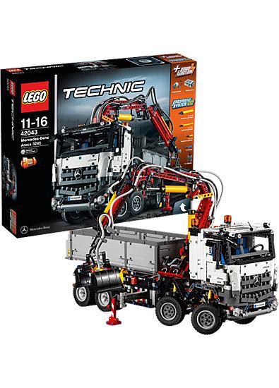 Jouet Lego camion Mercedes Arocs Lego 42043