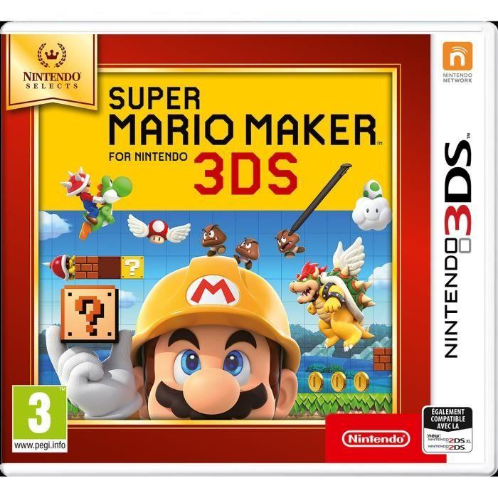 Sélection de jeux Nintendo 3DS à 11.99€ - Super Mario Maker Nintendo Selects