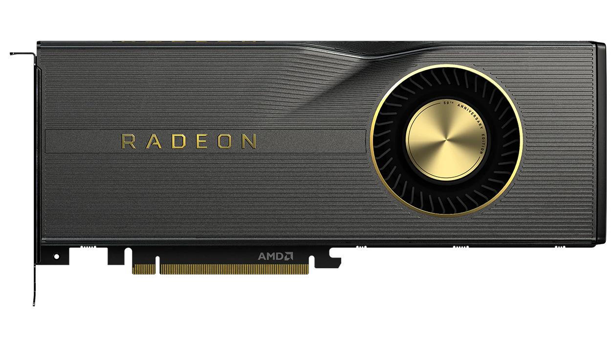 Carte graphique AMD Radeon RX 5700 XT - Édition 50ème Anniversaire, 8 Go