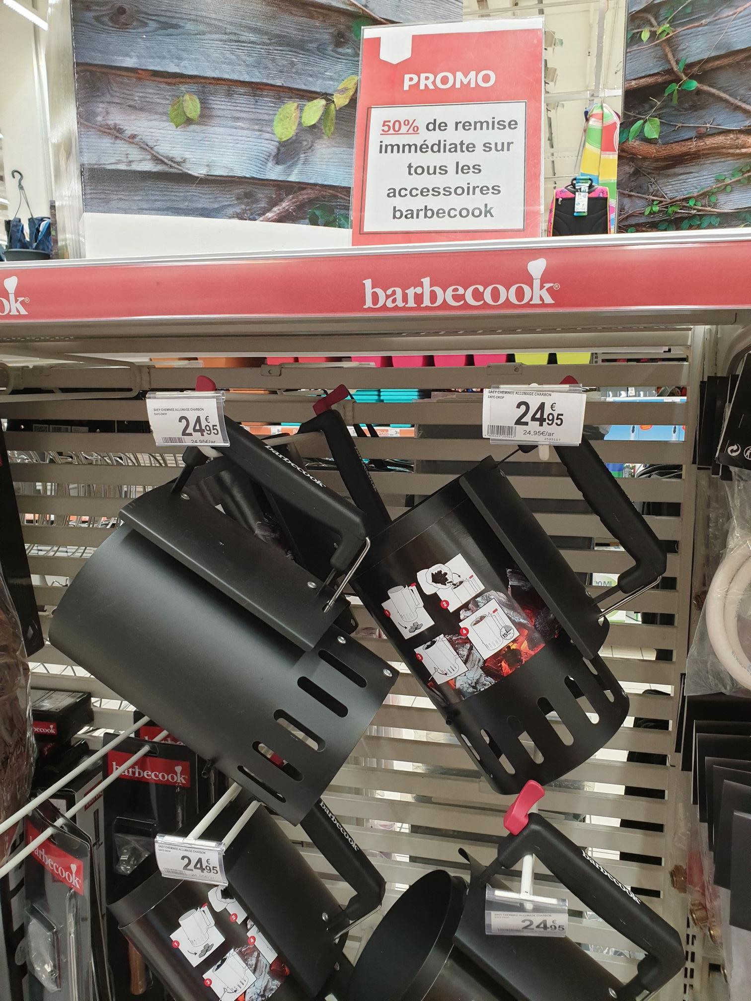 50% de réduction sur tous les accessoires Barbecook - Auchan Kirchberg (Frontaliers Luxembourg)