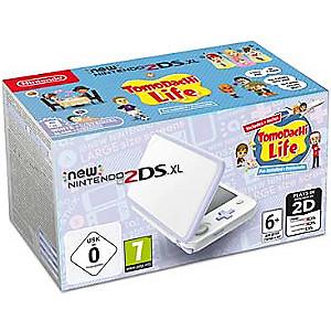 Console Nintendo New 2DS XL édition Tomadachi Life + 4 Jeux