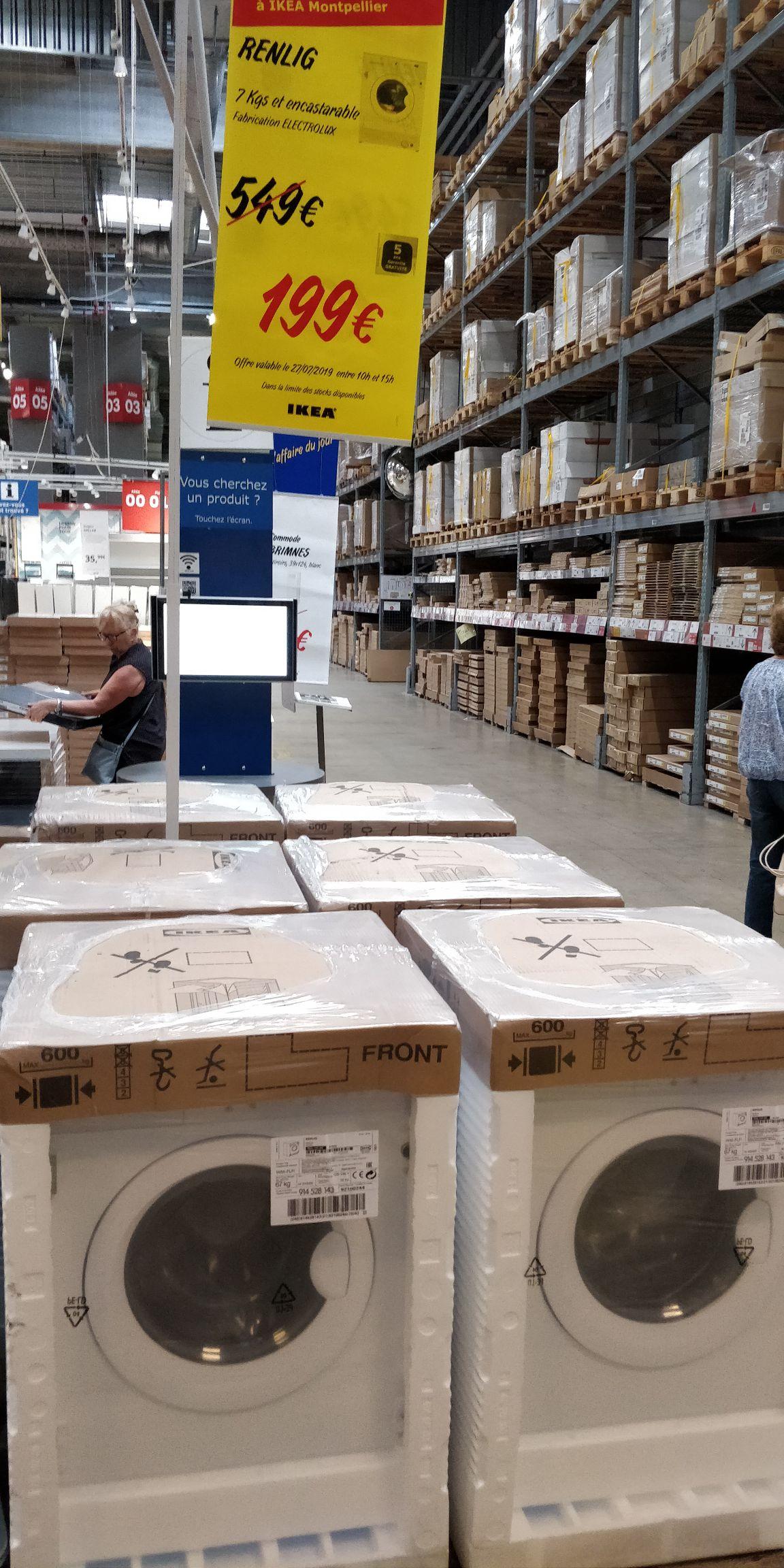 Lave linge Ikea Renlig - (Montpellier 34)