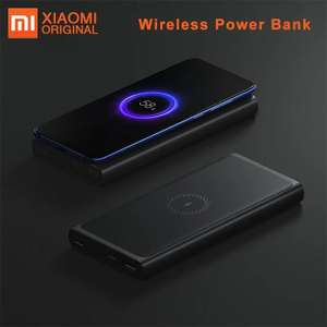 Batterie Externe Xiaomi 10000 mAh - USB type C, QC 3.0 in/out 18W, Charge sans fil 10W (Via coupon vendeur)