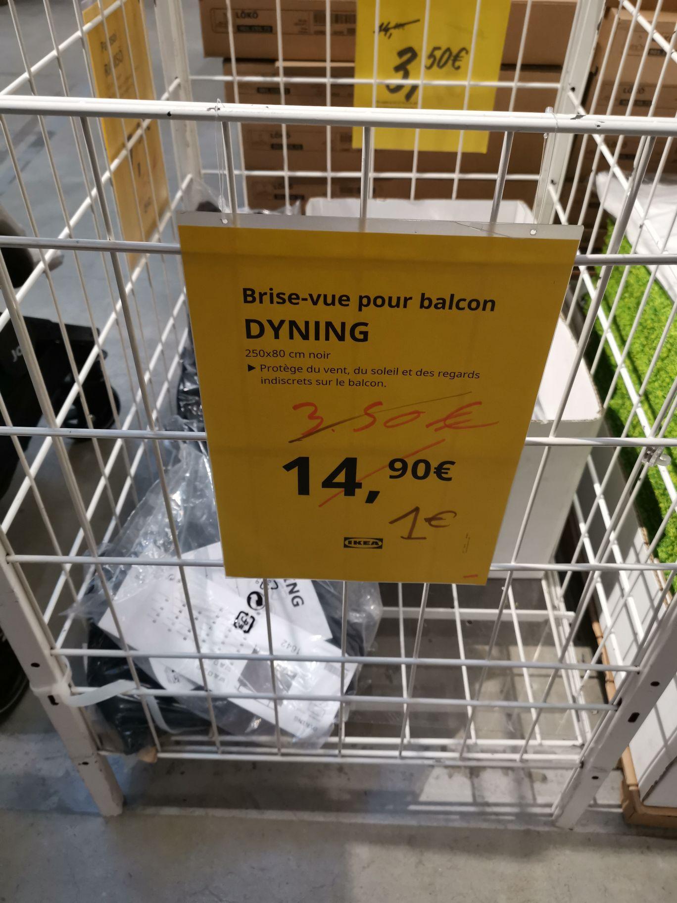 Brise vue pour balcon Dyning - Tours (37)