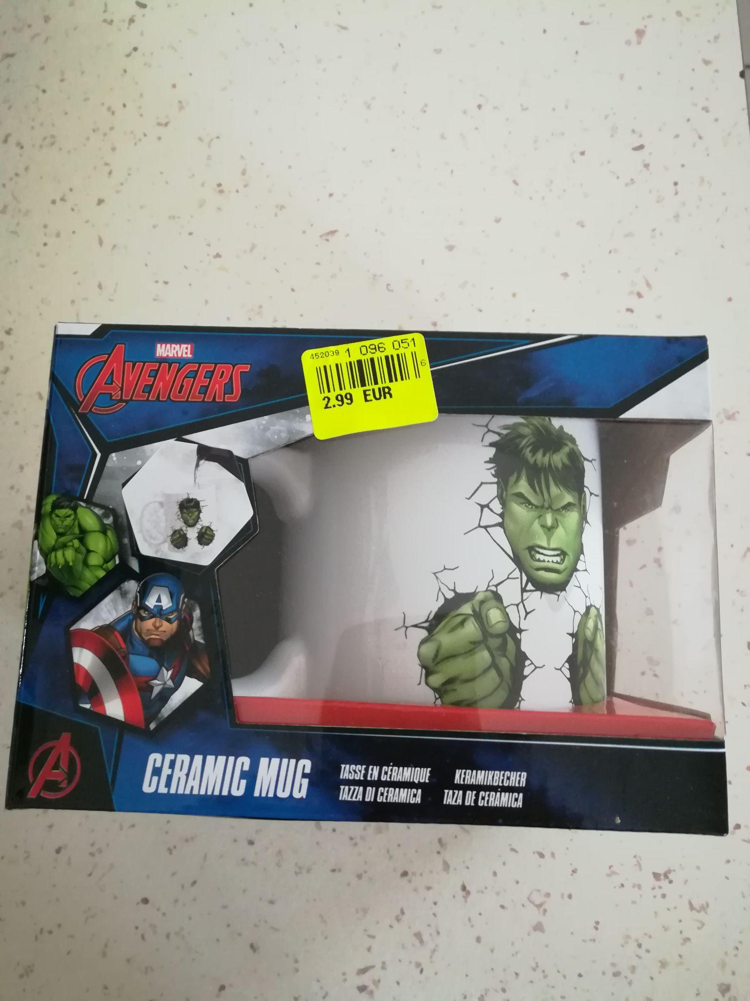 Mug Marvel Avengers - Hulk (Noz Creuzier-le-Vieux 03)