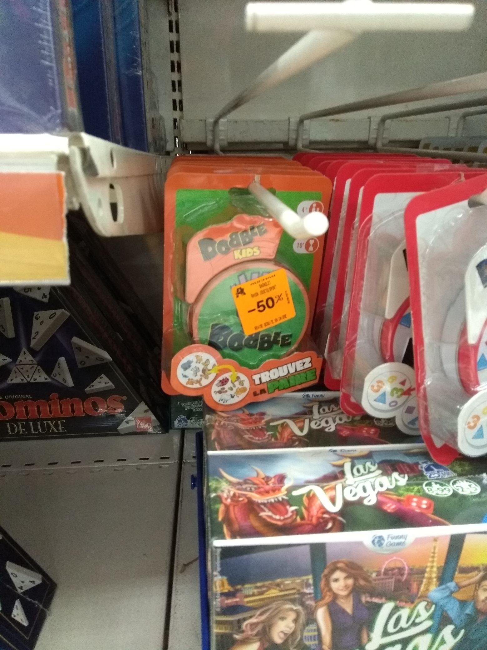 Jeu de société Dobble Kids - Auchan Bagnolet (75)