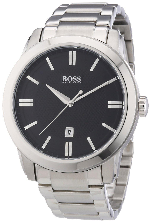 Montre Hugo Boss 1512769 pour Homme (Quartz analogique, Bracelet Acier Argent)