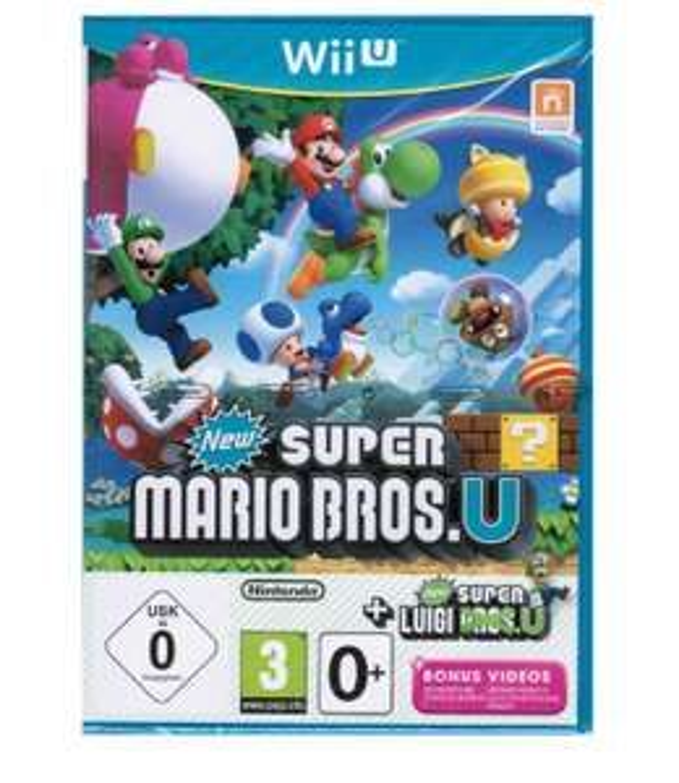 New Super Mario Bros.U sur Wii U + New Super Luigi