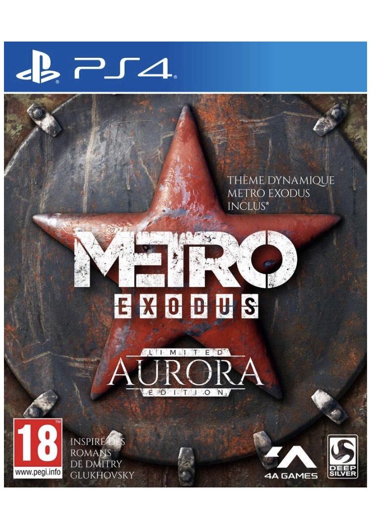 Metro Exodus - Edition Limitée Aurora GOLD sur PS4