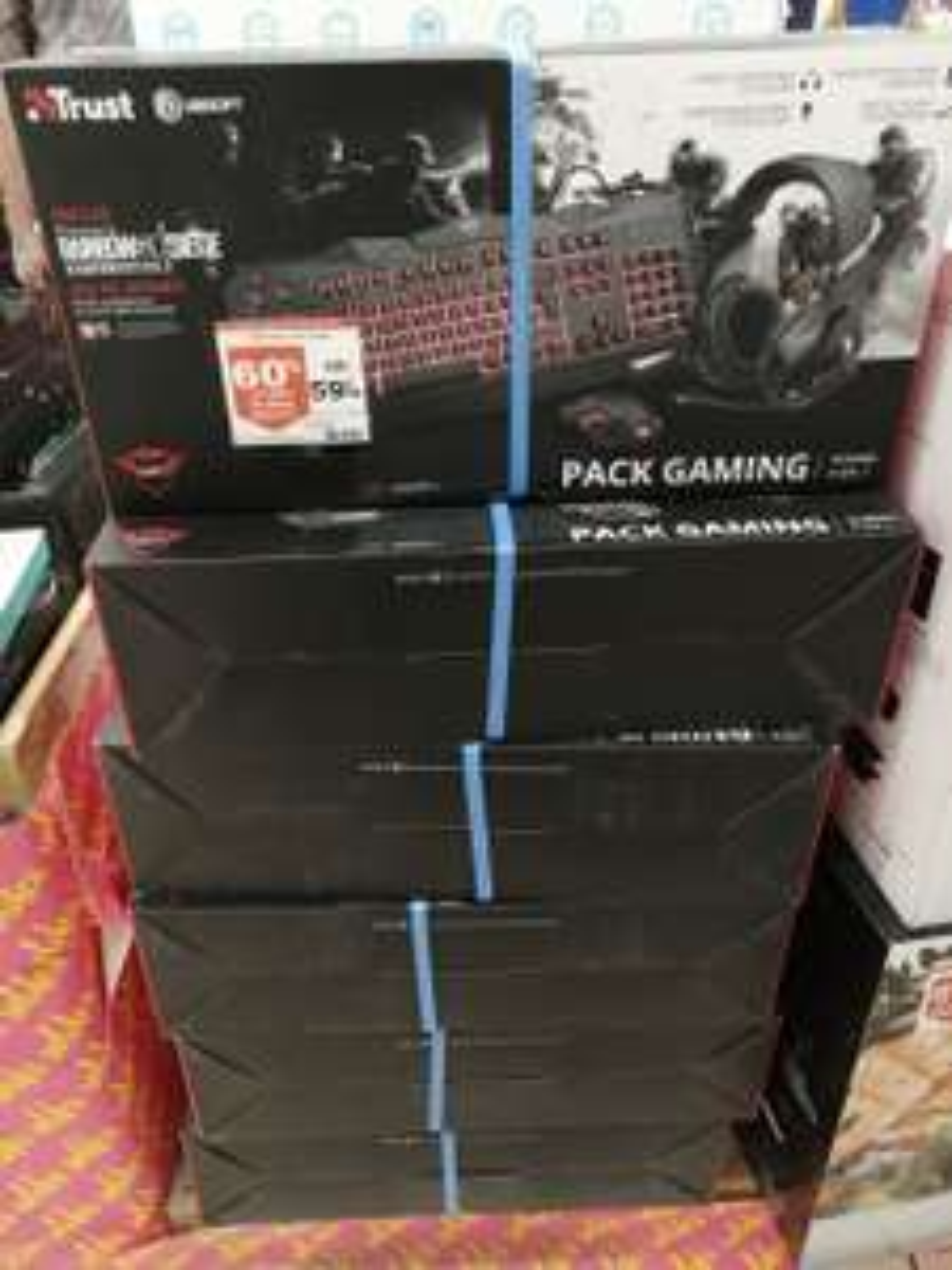 Bundle Gaming 4-en-1 Trust GXT840 - Villebon (91)
