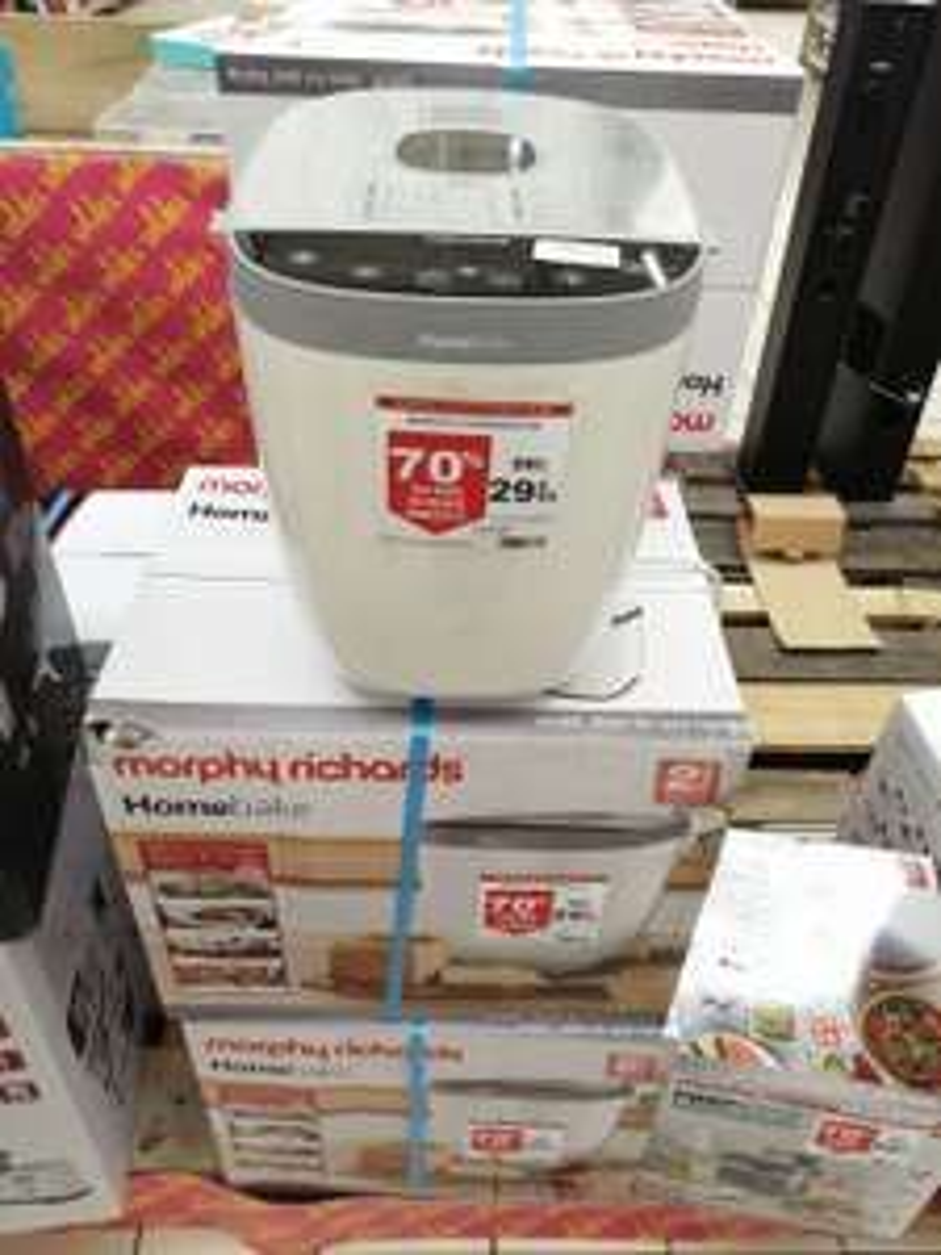 Machine à Pain Morphy Richards M502001EE Homebake - Auchan (Villebon-sur-Yvette 91)