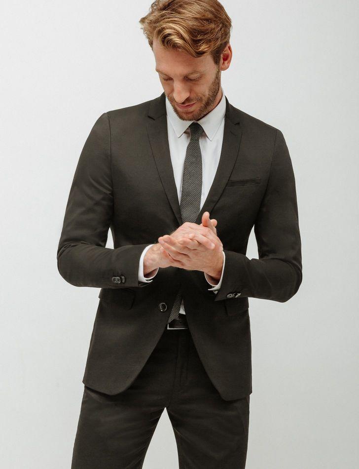 Veste de Costume Slim pour Hommes - Tailles au choix