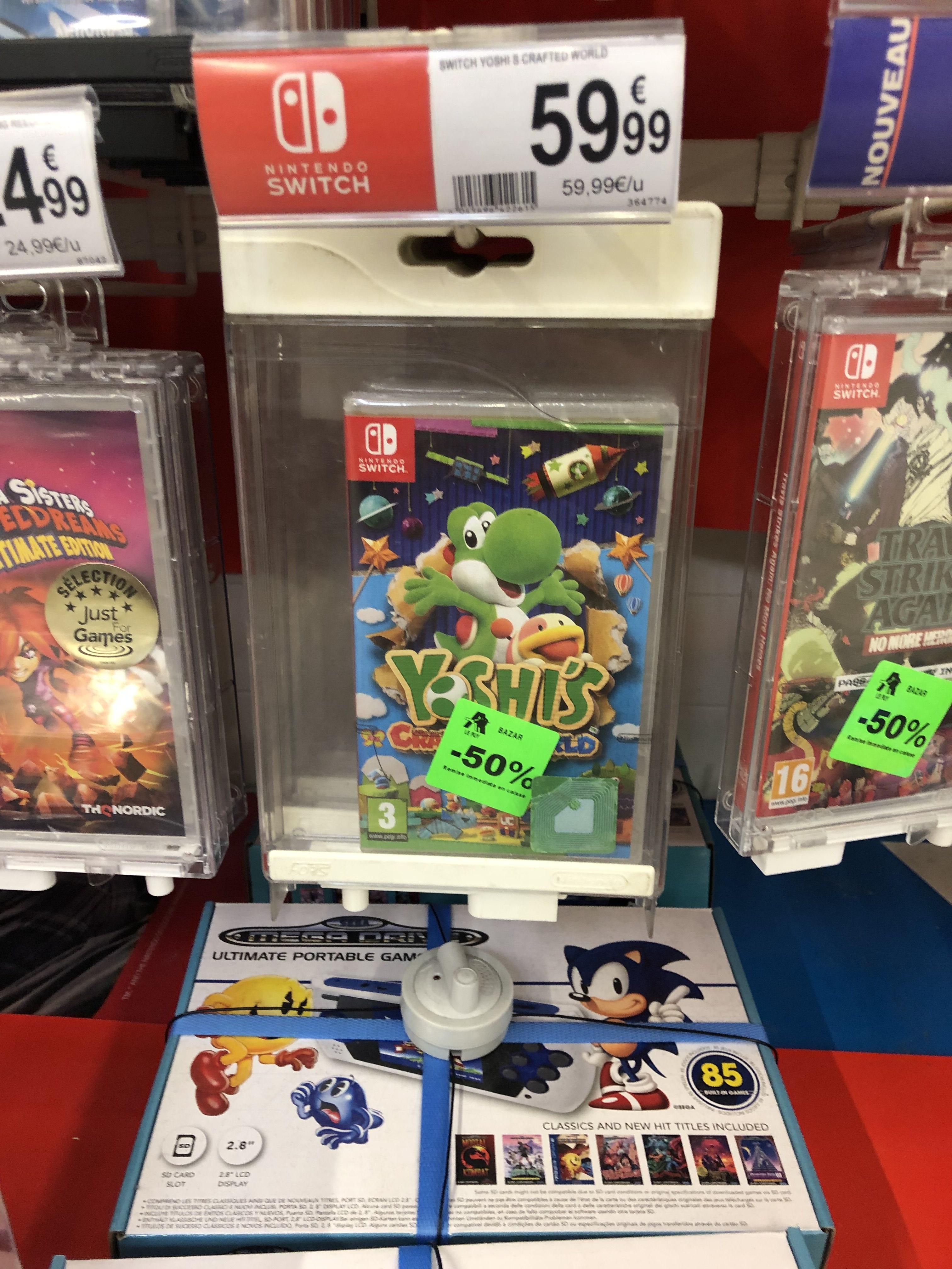 Sélection de jeux Nintendo Switch en promotion - Ex: Yoshi's Crafted World - Brives Charensac (43)