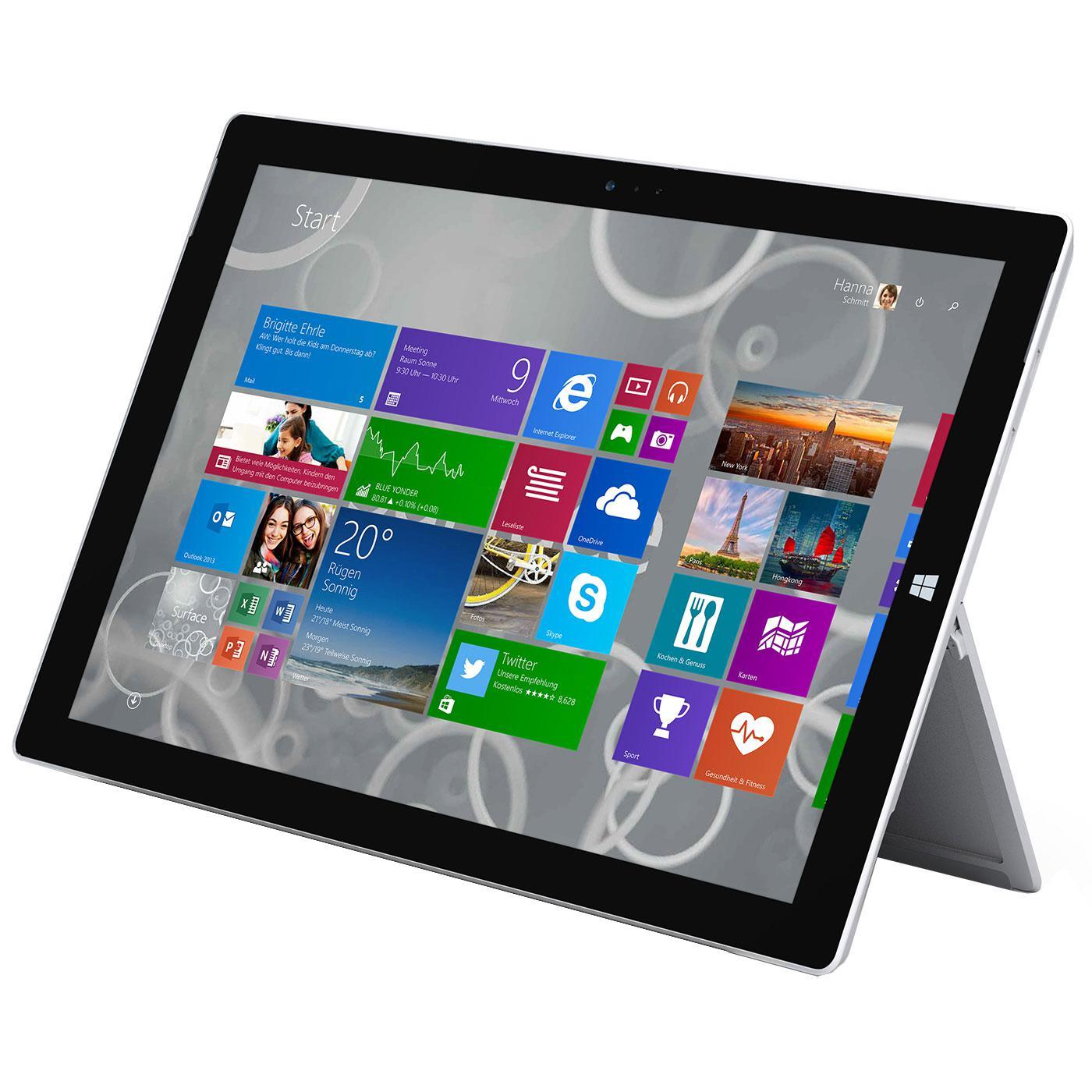 "Tablette 10.8"" Microsoft Surface 3 + Housse offerte - 128Go (4Go RAM) à 647,10€ et 64Go (2Go RAM)"