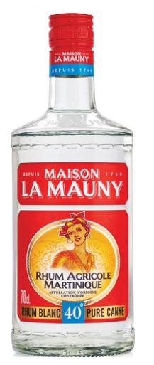 1 Bouteille de Rhum agricole La Mauny - 70cl