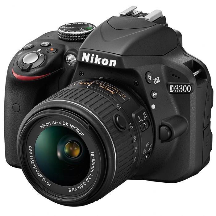 Appareil photo reflex Nikon D3300 + Objectif 18-55 VRII