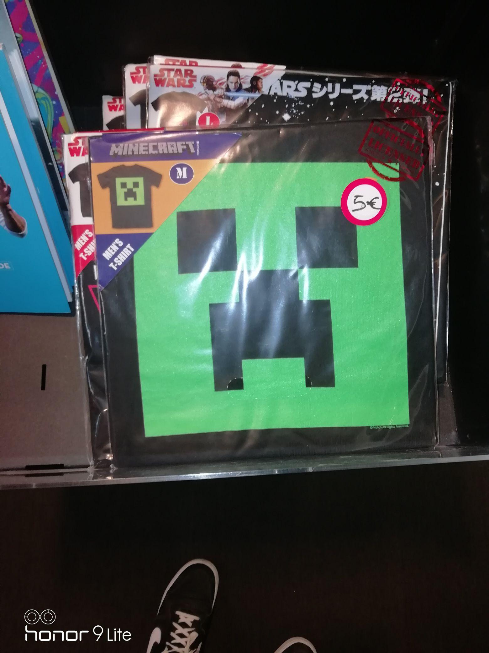 Sélection de T-Shirt en promotion (Ex: T-shirt Minecraft) - Amiens (80)