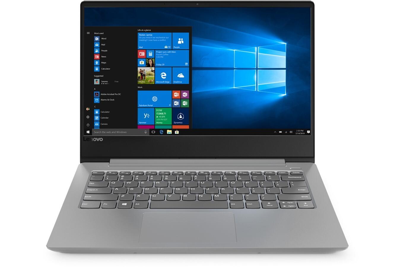 "PC Portable 14"" Lenovo Ideapad 330S (81F80027FR) - Full HD, A9-9425, 4 Go RAM (soudée + 1 slot libre), SSD 128 Go, Win 10S (+69.80€ en SP)"