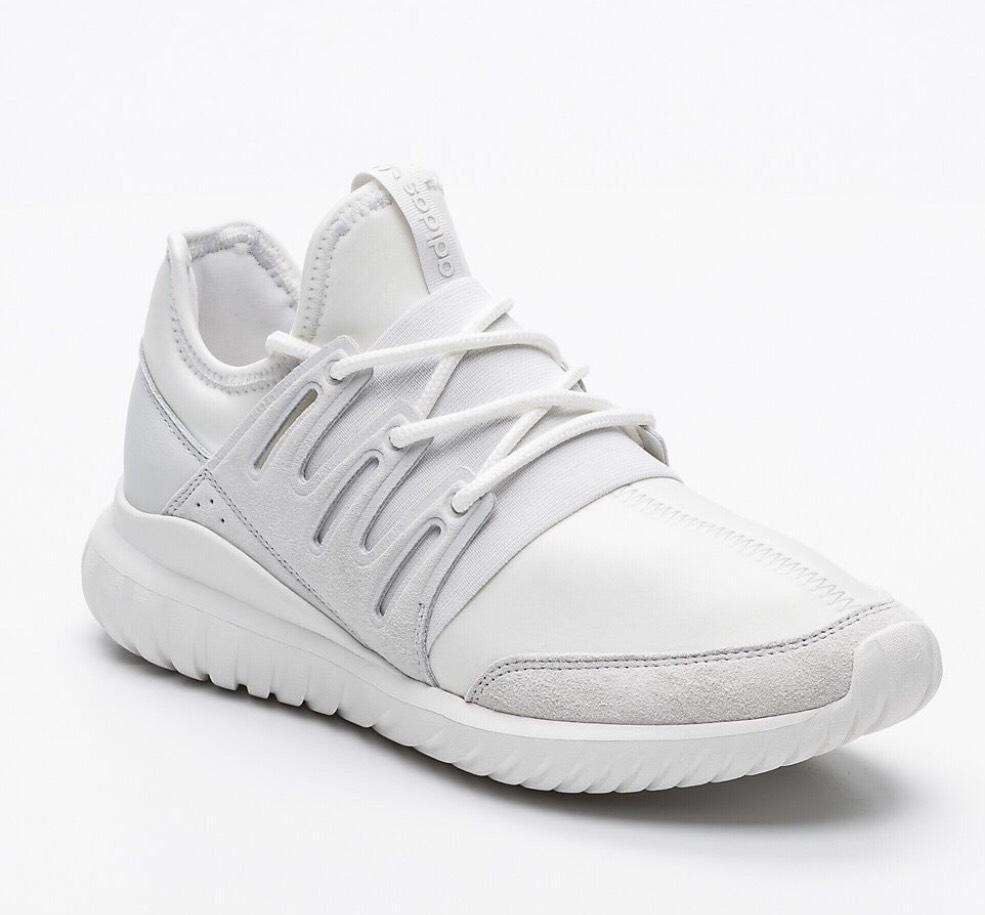 Sneakers Adidas Tubular radial - blanc et gris, 46 2/3 au 49