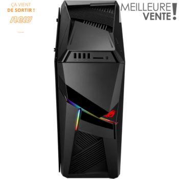 PC GamerAsusG12-FR068T - i5-8400 : 2,8 GHz, 8Go de Ram, GeForce GTX 1070