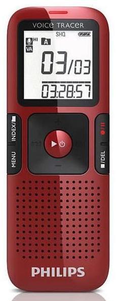 Dictaphone Enregistreur numérique Philips LFH0648 - 4Go