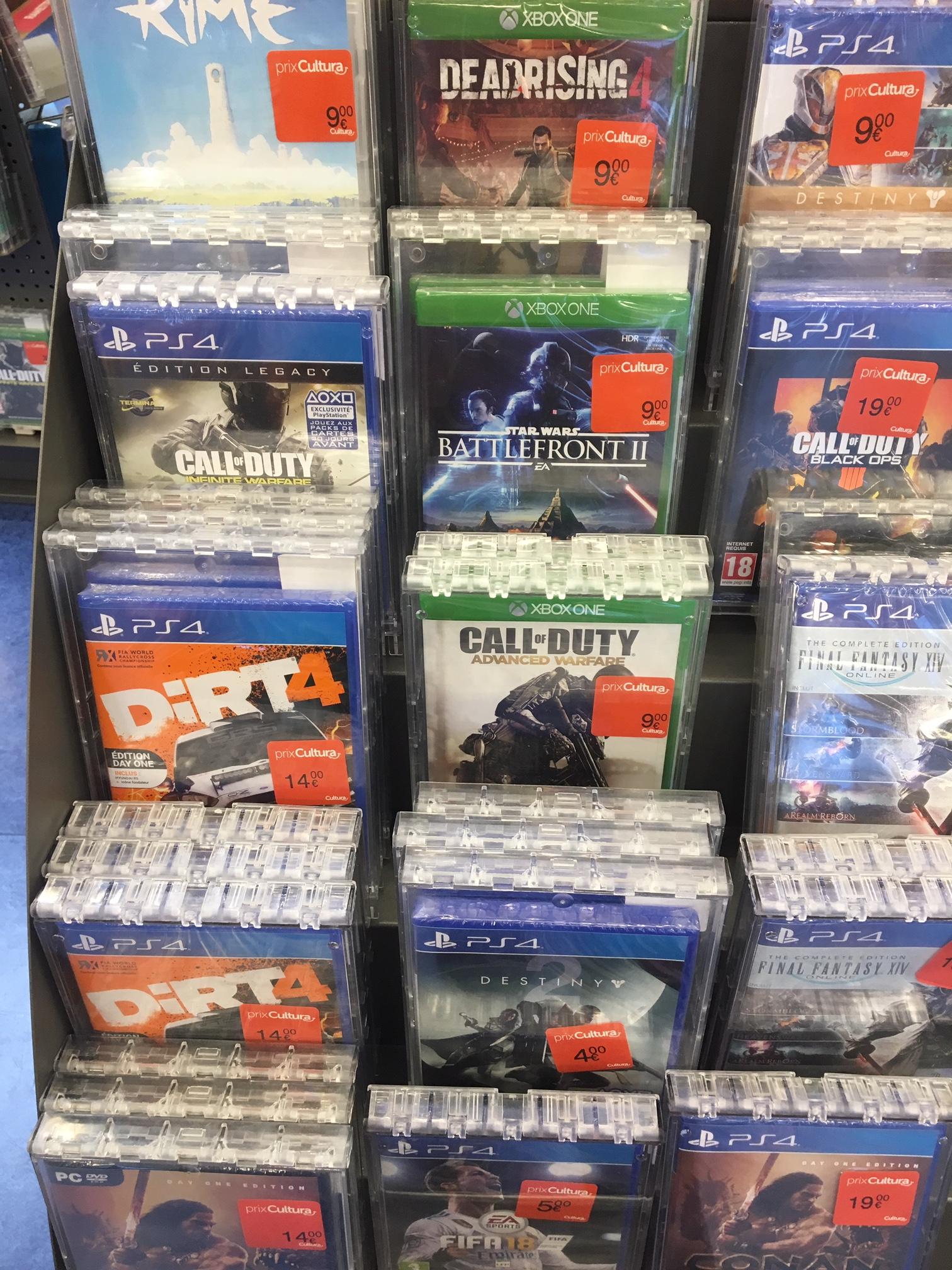 Sélection de jeux Xbox One et PS4 en promotion - Ex: Dead Rising 4 sur Xbox One