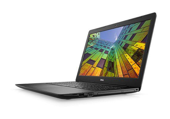 "PC Portable 15.6"" Dell Notebooks 3583 - i5-8265U, Radeo 520 2 Go, 4Go RAM, SSD 256Go"