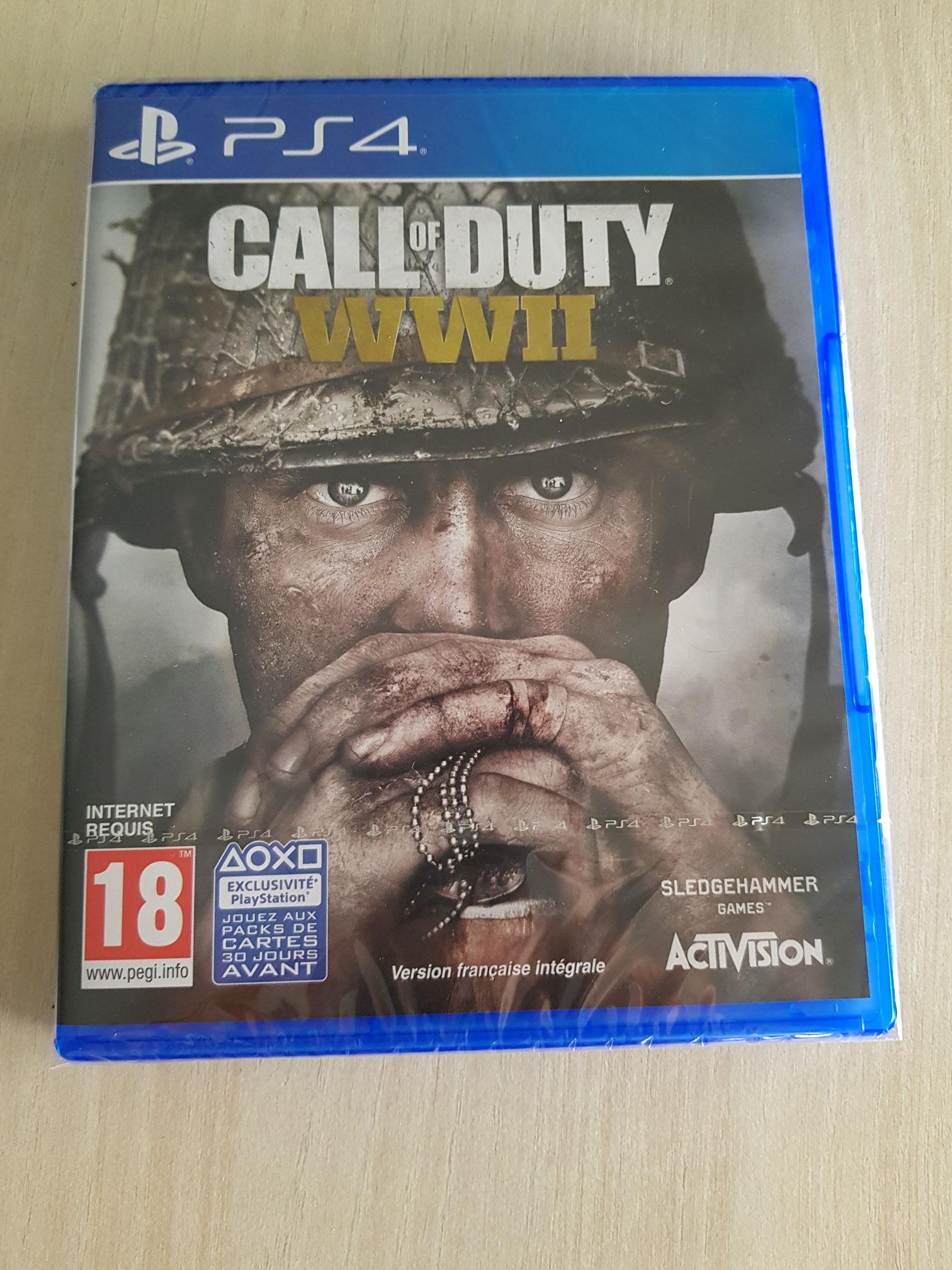 Jeu Call of Duty : WWII sur PS4 - Bègles (33)