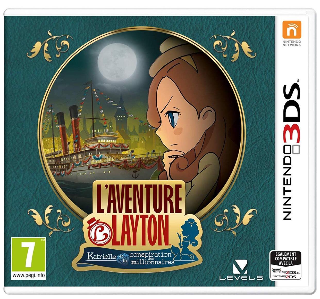 L'Aventure Layton: Katrielle et la conspiration des millionnaires sur Nintendo 3DS
