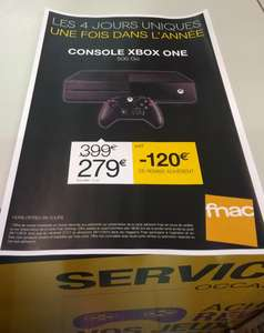 [Carte Fnac Gaming] Console Xbox One 500 Go