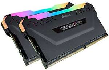 Kit mémoire RAM Corsair Vengeance RGB Pro - 32Go (2x16Go), DDR4, 3200MHz, C16 - Noir