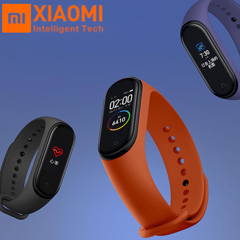 Bracelet connecté Xiaomi Mi Band 4 (Version Chinoise) (Via l'Application)