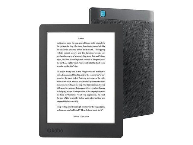 Liseuse eBook Kobo Aura H2O 8 Go 6.8 pouces Noir + 39€ en superpoints (139,99€ avec le code RAKUTEN20)