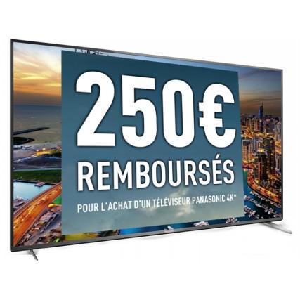 """25% de réduction sur une large sélection de produits - Ex : TV 55"""" 4K Panasonic TX-55CX700E (Avec ODR de 250€)"""