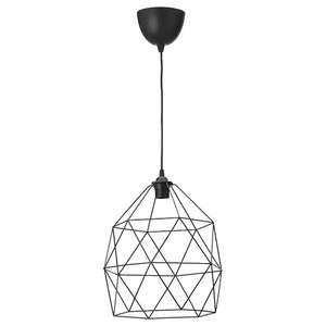 [Ikea Family] Suspension Brunsta Hemma - 30 cm, noir