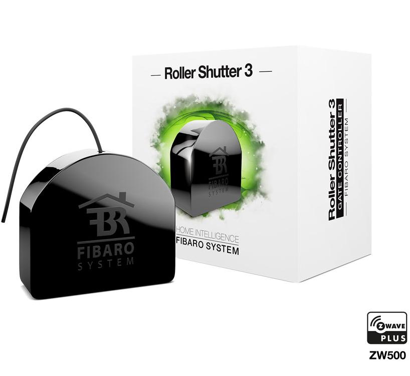 Module Fibaro Roller Shutter 3 (FGR-223), FW5.1 pour volet roulant (home4u-shop.de)