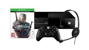 Console Microsoft Xbox One 500 Go + The Witcher 3