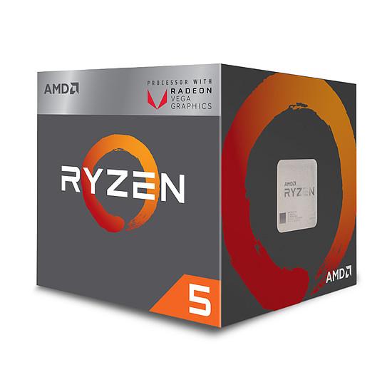 Processeur AMD Ryzen 5 2400G (3.6 GHz) + 6.53 € en SuperPoints (110.58€ avec le code RAKUTEN20)