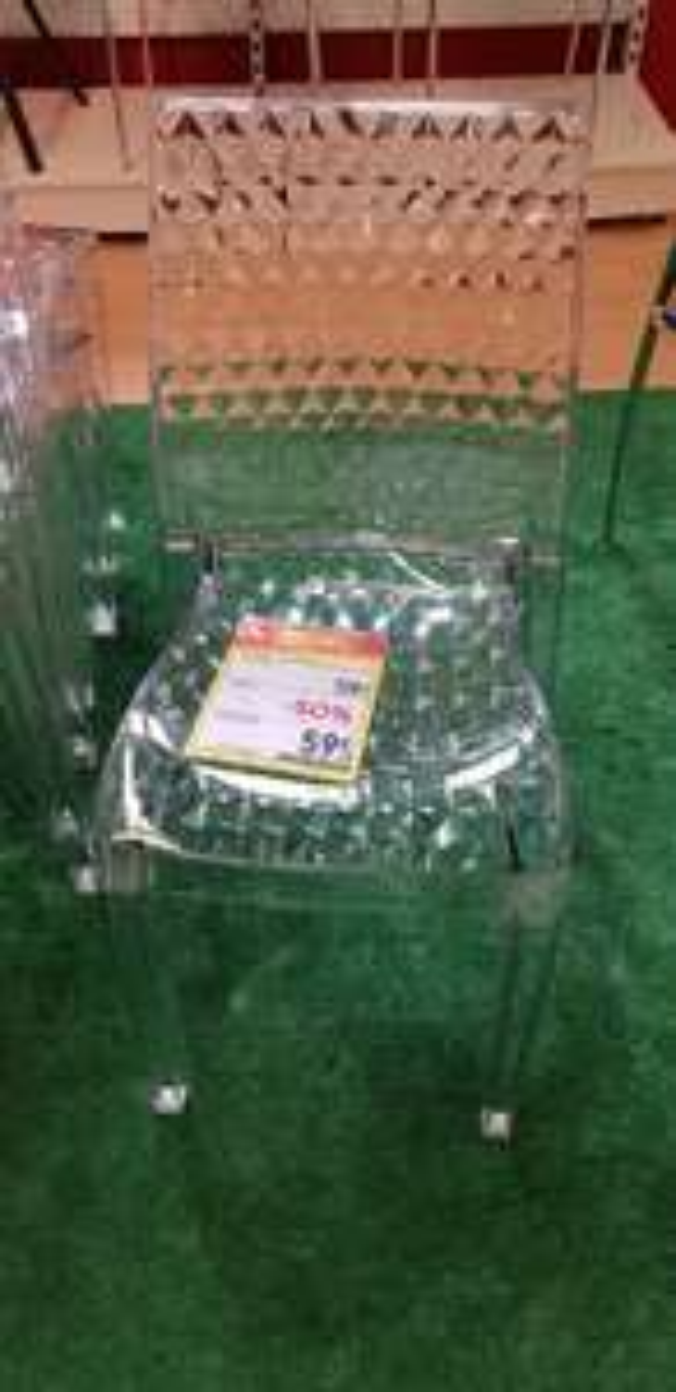Lot de 2 chaises transparentes - Saint Étienne (42)