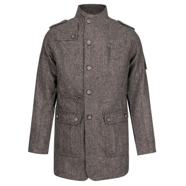 Manteau Trench Lee Cooper - 80% laine, différentes tailles (vendeur tiers)