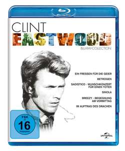 Coffret 6 Blu-ray Clint Eastwood Collection