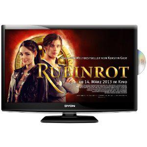 """Téléviseur LED Dyon Sigma 24"""" Full HD avec lecteur DVD intégré"""