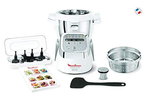 Robot cuiseur Moulinex Companion XL HF806E10 - avec accessoires, 1550 W