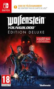 Wolfenstein : Youngblood Edition Deluxe sur Nintendo Switch, PS4, Xbox, PC